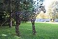Feldkirchen - Amthof - Pferde-Skulptur1.JPG