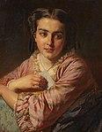 Felix Schlesinger Porträt einer jungen Frau 1856.jpg