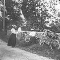 Female cyclists between Newtownmountkennedy and Roundwood (7603254050).jpg