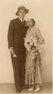 Ferdo Delak with wife 1930s.jpg