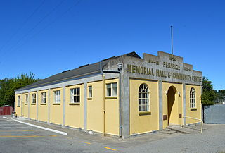 Fernside, New Zealand Rural Area in Canterbury, New Zealand