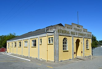 Fernside, New Zealand - Memorial hall and community centre