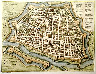 Ferrara - Ferrara as it appeared in 1600
