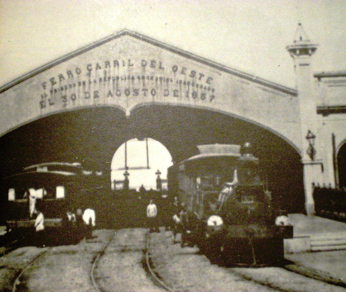 Resultado de imagen para juarez celman y los ferrocarriles