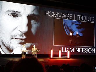Liam Neeson - Liam Neeson, Deauville Film Festival, 2012.