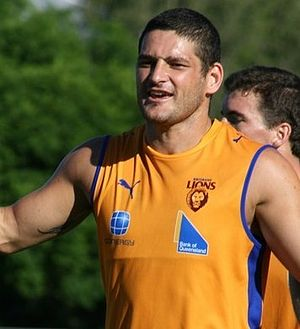 Brisbane Lions - Brendan Fevola became the 1st Coleman Medallist to win the medal at a club and be traded to another the following year. He originally came from Carlton.