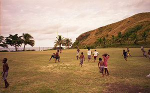 Fiji Rugby Union - Rugby union being played in Fiji