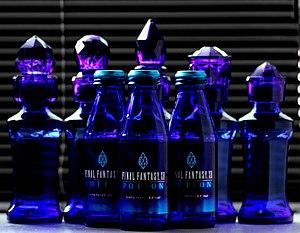 Final Fantasy XII - Bottles of Final Fantasy XII Potions