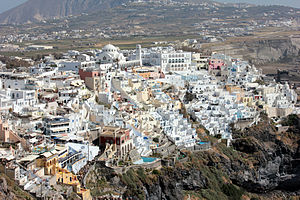 Santorini - Fira, main town of Santorini