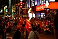 Fire breathing performance in a Ba-Jia-Jiang (the Eight Infernal Generals) parade in Chiayi City (Taiwan).jpg