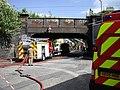 Firefighters, Murieston Crescent - geograph.org.uk - 1386743.jpg
