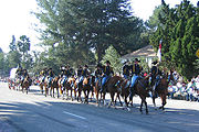 1st Cavalry Division Fort Hood TX at the 2007 Rose Parade