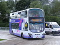 First Games Ltd Shuttle - route 41 to North Weald BG12 YKE Park & Ride 2012 Olympics White Water Centre (7700023562).jpg