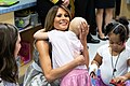 First Lady Melania Trump at the Monroe Carell Jr. Children's Hospital (43633845651).jpg