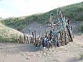 Fishing tackle enclosure, Newborough Warren - geograph.org.uk - 226158.jpg