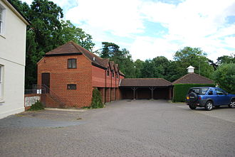 Fitznells Manor - Buildings added in 1988 (July 2009)