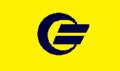 Flag of Futatsui Akita yellow version.png