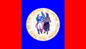 Flag of Wayne County, Michigan (1957–present)