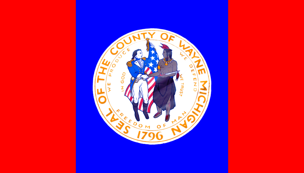 Flag of Wayne County, Michigan