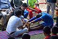 Flexibility Test - Football Workshop - Nisana Foundation - Sagar Sangha Stadium - Baruipur - South 24 Parganas 2016-02-14 1330.JPG