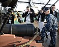 Flickr - Official U.S. Navy Imagery - MCPON spends time on the USS Constitution's deck..jpg