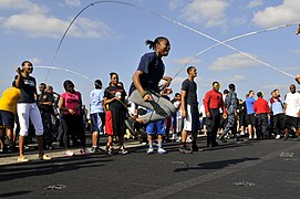 Flickr - Official U.S. Navy Imagery - Sailors participate in a Flight Deck Fun Day..jpg