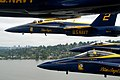 Flickr - Official U.S. Navy Imagery - The Blue Angels fly in the delta formation during Seattle Seafair Fleet Week..jpg