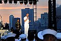 Flickr - Official U.S. Navy Imagery - The CNO helps start the USO New York City Fleet Week block party by thanking the international audience..jpg