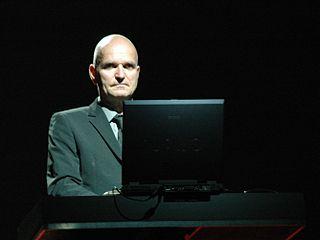 Florian Schneider Founding member of German electronic band Kraftwerk