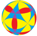 Flower of life on spherical cuboctahedron.png
