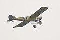 Fokker EIII Oblt Schildknecht Flyby 02 Dawn Patrol NMUSAF 26Sept09 (14597961344).jpg