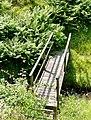 Footbridge across Nant Cou, near Tregaron, Ceredigion - geograph.org.uk - 1184580.jpg