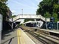 Footbridge and platforms, Sidcup Station - geograph.org.uk - 849156.jpg