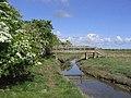 Footbridge over the Fenham Burn - geograph.org.uk - 444280.jpg