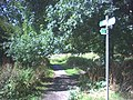 Footpath beside the Hogsmill River. - geograph.org.uk - 32677.jpg