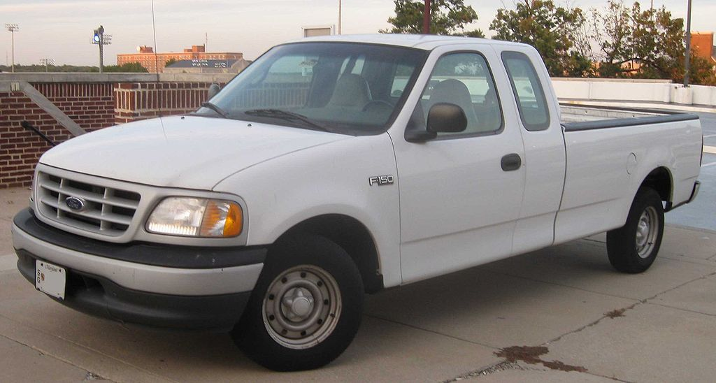 File Ford F 150 ext cab long bed Wikimedia mons