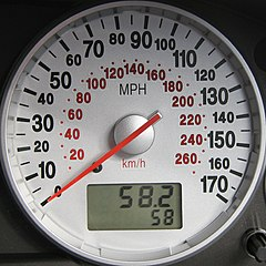 Ford Mondeo MK3 ST220 - Speedometer