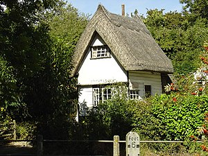 Clavering, Essex - Fordkeeper's cottage in Clavering