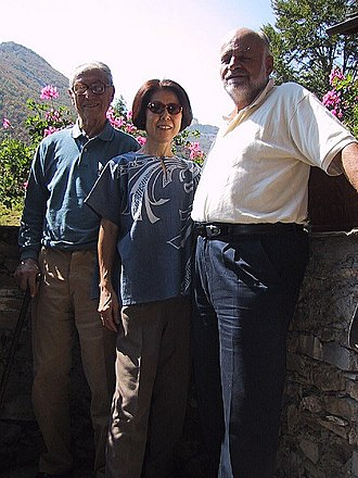 Fosco Maraini - Fosco Maraini, his wife Mieko Namiki and Kurt Diemberger