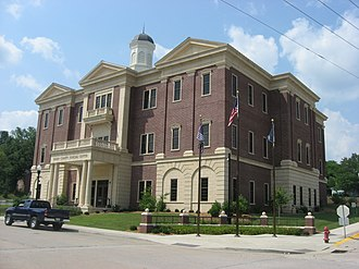 Green County, Kentucky - Image: Fourth Green County Courthouse in Greensburg