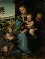 Fra Bartolomeo - De heilige familie met de kleine Johannes.jpg