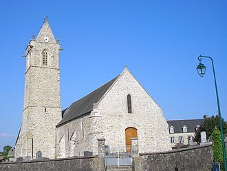 Hauteville-la-Guichard - The church of Notre-Dame-de-l'Assomption