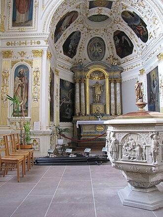Jesuit Church, Molsheim - Image: France Molsheim Eglise des Jesuites Chapelle Saint Ignace