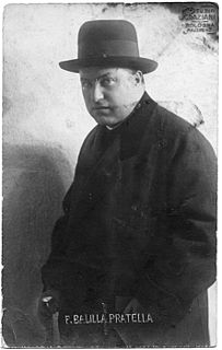 Francesco Balilla Pratella Italian composer