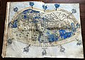 Francesco Berlinghieri, Geographia, incunabolo per niccolò di lorenzo, firenze 1482, 08 mondo 01.jpg