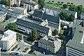 Frankfurt Am Main-Karmeliterkloster-Ansicht vom Commerzbank Tower-20100814.jpg