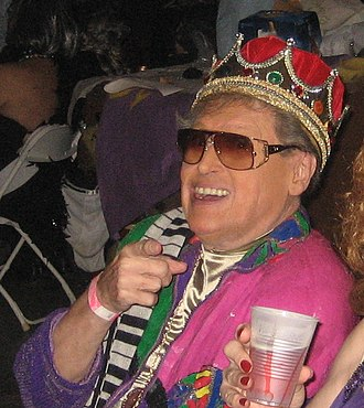 Frankie Ford - Ford honored as King of the Krewe du Vieux, 2009