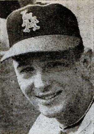 Fred Newman (baseball) - Image: Fred Newman 1963