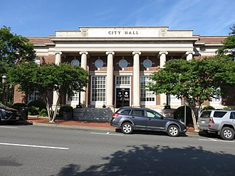 Fredericksburg, Virginia - Fredericksburg City Hall
