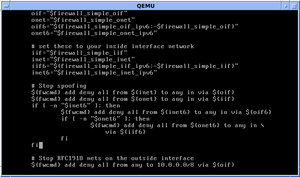 Shell script - Editing a FreeBSD shell script for configuring ipfirewall